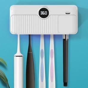 GC-M06 Smart UV Tandenborstel Sterilizer Wall Mounted Sterilisatie Elektrische tandenborstel Rack (Wit)