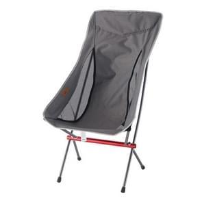 CLS Outdoor klapstoel verhoogt draagbare kampeerstoelen (grijs)