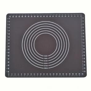 50x40cm SUHONE-73 Food Grade Siliconen Kneden Mat Keuken Bakgereedschappen Hoge temperatuur bestendige antislipmat