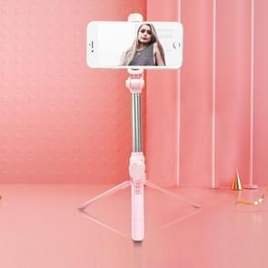 XT10 Bluetooth Statief Selfie Stick Live Mobiele Telefoon Houder (Roze)