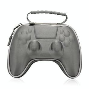 EVA Satin Cloth Gamepad Bag Portable Storage Bag voor PS5 (Grijs)