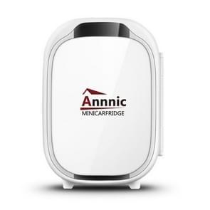 Annnic 6L Mini Kleine huishouden Slaapzaal Single Door gekoelde auto koelkast  CN Plug