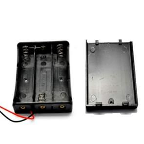 10 PCS AA Size Power Battery Storage Case Box Holder For 3 x AA Batteries with Cover & Switch