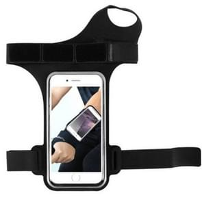 Running Sports Mobile Phone Wrist Bag  Specificatie:Onder 5 5 inch (Zwart)