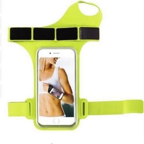Running Sports Mobile Phone Wrist Bag  Specificatie:Onder 5 5 inch (Groen)