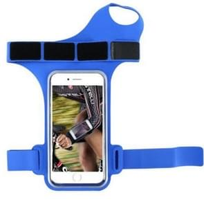 Running Sports Mobile Phone Wrist Bag  Specificatie:Onder 5 5 inch (Blauw)