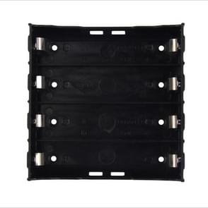 10 PCS Pin-type Power Battery Shrapnel Slot Storage Box Box Holder voor 4 x 18650 batterij