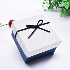 10 PCS Watch Bracelet Box Sieraden Gift Packaging Box  Specificatie: 9x8.5x5.5cm (Wit Blauw)