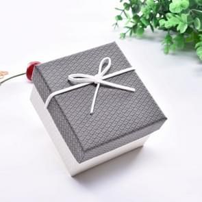 10 PCS Watch Bracelet Box Sieraden Gift Packaging Box  Specificatie: 9x8.5x5.5cm(Grijs Wit)