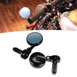 Motorfiets Gewijzigde Achteruitkijkspiegel CNC Handle Mirror Accessoires (Zwart)