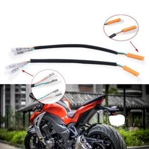 Motorfiets Retro Turn Signal Stekker Adapter Cable Adapter Voor Kawasaki Z800 / Z1000 / ZX-6R