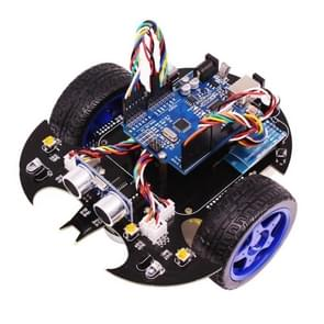 Robot Car Kit Arduino Electronic Robotics Starter Learning Building Kits Bat Smart Robots Toy for Programmable STEM Education