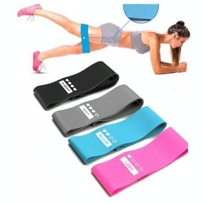 4 in 1 Intensiteit Gradient Latex Anti-Slip Resistance Band Yoga Stretching Stretch Band Set