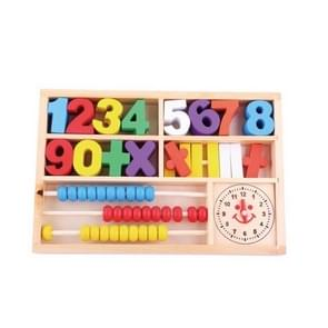 Wiskunde Learning Box Childhood Early Education Onderwijs Aids Houten Speelgoed