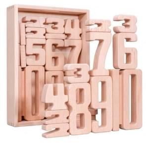 Kinderen Particle Beech Number Bouwstenen Kinderen Wiskunde Vroege Onderwijs Speelgoed Onderwijs Aids(32 PCS / Set)
