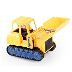 Kinderen Licht en Muziek Simulatie Elektrische Graafmachine Auto Speelgoed  Stijl: Engineering Bulldozer
