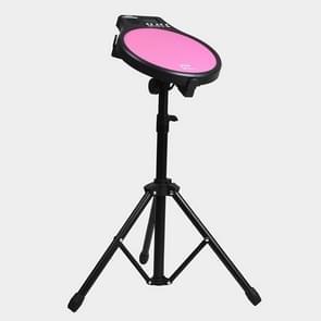 ENO EMD-40 12-Inch Beginner Dumb Drum Pad Set Drum Kit Elektronische Metronoom (Roze)