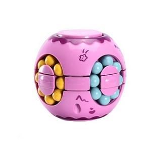 3 PCS Finger Magic Bean Rubik Cube Speelgoed Kinderen Intelligentie Vingertop Spinning Top (Lilac)