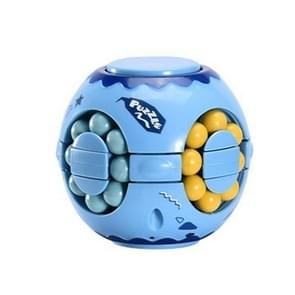 3 PCS Finger Magic Bean Rubik Cube Speelgoed Kinderen Intelligentie Vingertop Spinning Top (Blue Indigo)