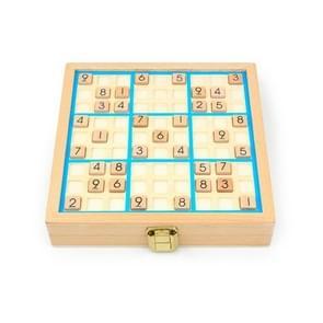 3 In1 Kinderen Multifunctioneel Sudoku bordspel puzzelbordspel (Blauw)