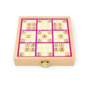 3 In1 Kinderen Multifunctioneel Sudoku Bordspel puzzelbordspel (Roze)