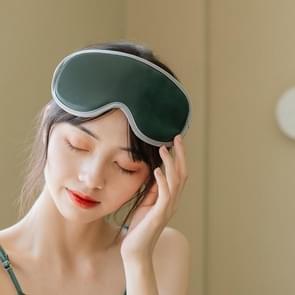 M02 Office Home Portable USB Type Remote Control Steam Sleep Massage Eye Mask (Groen)