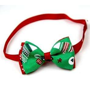 5 PCS Christmas Holiday Pet Cat Dog Collar Bow Tie Adjustable Neck Strap Cat Dog Grooming Accessories Pet Product(3)