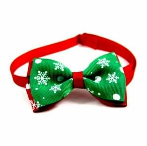 5 PCS Christmas Holiday Pet Cat Dog Collar Bow Tie Adjustable Neck Strap Cat Dog Grooming Accessories Pet Product(9)