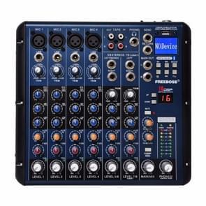 SMR8 Bluetooth USB Record 8 Channels (4 Mono + 2 Stereo) 16 DSP Church School Karaoke Party USB DJ Mixer