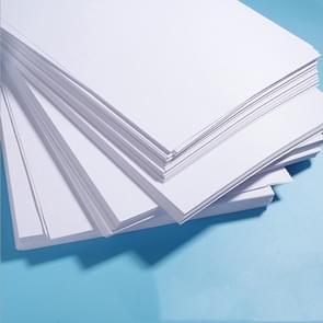 Wit A4-afdrukpapier Dubbelgecoat kopieerpapier voor Office  Style:70G White 100-vellen
