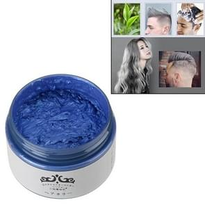 Harajuku Style Hair Color one-time Molding Pasta (blauw)