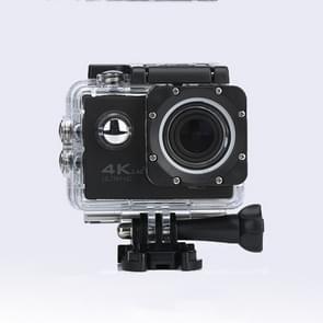 WIFI Waterproof Action Camera Cycling 4K camera Ultra Diving  60PFS kamera Helmet bicycle Cam underwater Sports 1080P Camera(Black)