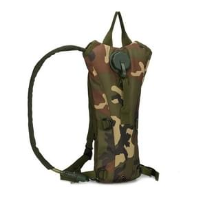 Water Bag Military Tactical Hydration Backpack Outdoor Camping Camelback  Nylon Camel Water Bladder Bag For Cycling 3L(Jungel Camouflage)