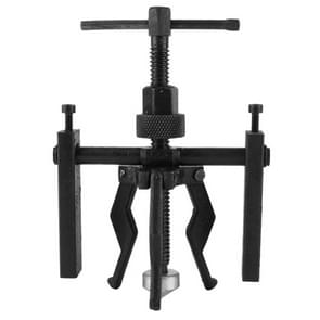 3-Jaw Inner Bearing Puller Gear Extractor Heavy Duty Automotive Machine Tool Kit(Black)