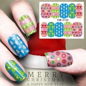 3 PCS Nail Sticker Set Decal Water Transfer Slider Nails Art Decoration, Color:YZW2131