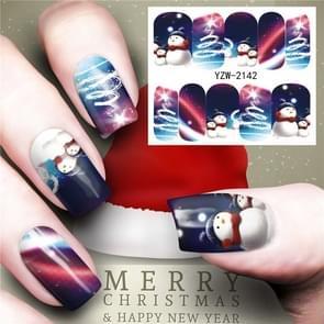 3 PCS Nail Sticker Set Decal Water Transfer Slider Nails Art Decoration, Color:YZW2143
