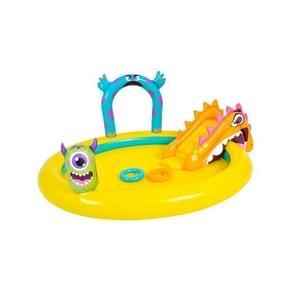 Home Grote Cartoon Dier Drama Zwembad Water Spray Opblaasbare Zwembad Slide Pool (Klein Monster)