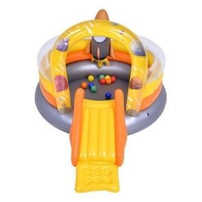Home Grote Cartoon Dier Drama Zwembad Water Spray Opblaasbare Zwembad Slide Pool (Rocket Slide)