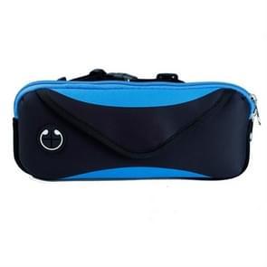 Sport Running Mobile Phone Waterproof Waist Bag  Specificatie: Minder dan 7 inch (Blauw)