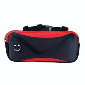 Sport Running Mobile Phone Waterproof Waist Bag  Specificatie: Minder dan 7 inch (Rood)