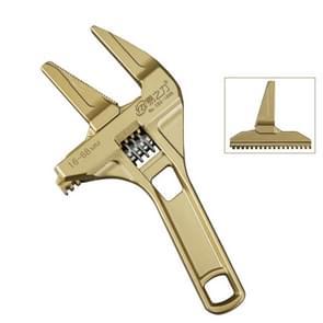 YZL multifunctionele korte handvat grote opening Verstelbare moersleutel  stijl: gouden badkamer
