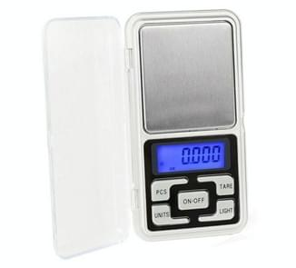 Mini Pocket Digital Scale Silver Jewelry Balance Gram Electronic Scales Chinese 500g/0.01g