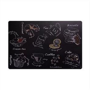 2 PC'S creatieve isolatie pad tabel mat westerse tabel Nordic kussen waterdichte plaat Bowl Cup Home mat (bakken)
