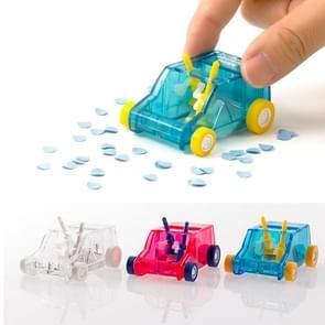 Mini desktop hand glijden schoonmaken trolley potlood scheren rubber Cleaner, willekeurige kleur levering