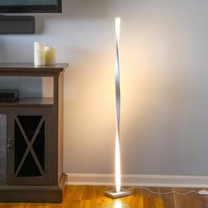 Eenvoudige lijn Home Floor lamp Smart dimmen slaapkamer woonkamer persoonlijkheid verlichting (WRAM wit)