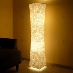 Softlighting Minimalist Design Fabric Shade Standing Light Living Room Bedroom Warm Atmosphere LED Floor Lamp, Plug:UK Plug