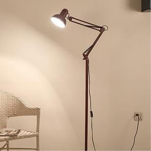 Woonkamer Hotel verlichting nacht verstelbare vloer lampen studie lezing bed licht  AC 110-240V (wijn rood)