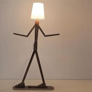 Persoonlijkheid creatieve verstelbare houten entertainer woonkamer slaapkamer kinderen kamer vloer lamp