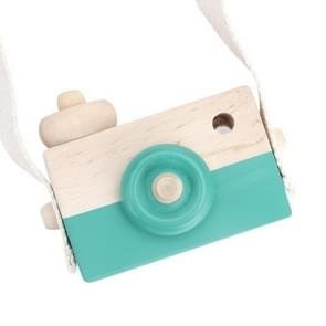 Cute Nordic Hanging Wooden Camera Toys for Kids(Green )
