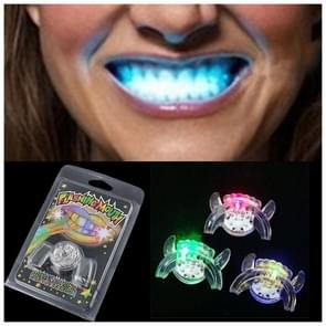3 PCS LED Light Glow Mouth Guard Piece Funny Party Toy